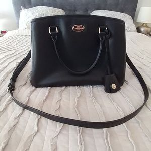 Classic Vintage Leather Coach bag